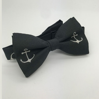 Charcoal with Large White Anchors #BT2