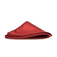 Satin Burgundy Pocket Square - C07
