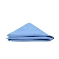 Self Stripe Sky Blue Pocket Square C611