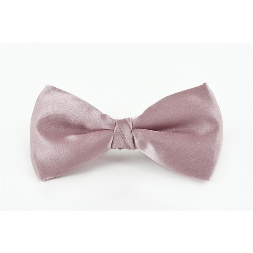 Mens Matt Satin Dusty Pink Bowtie - C28